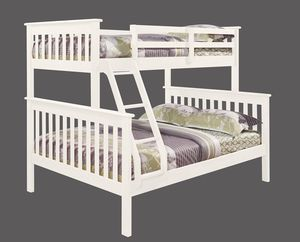 moshya twin over full mission bunk bed
